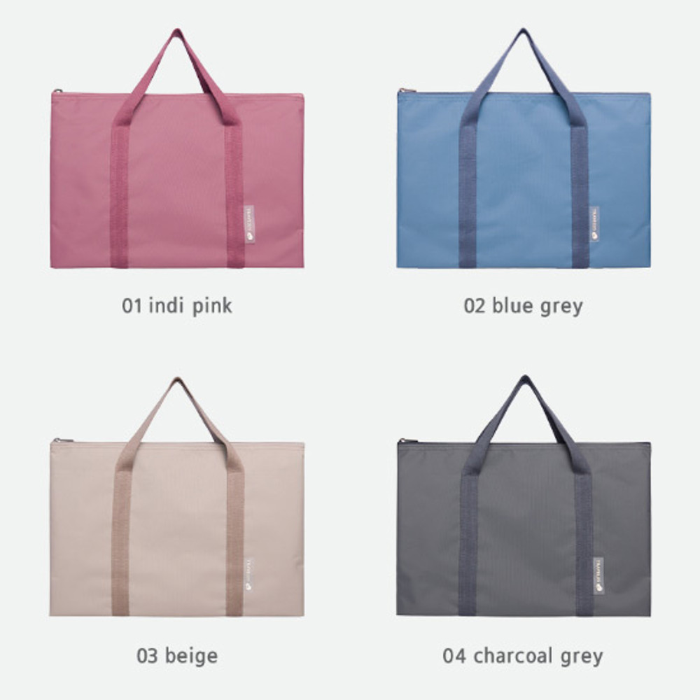 Color - Byfulldesign Travelus travel medium zipper tote bag