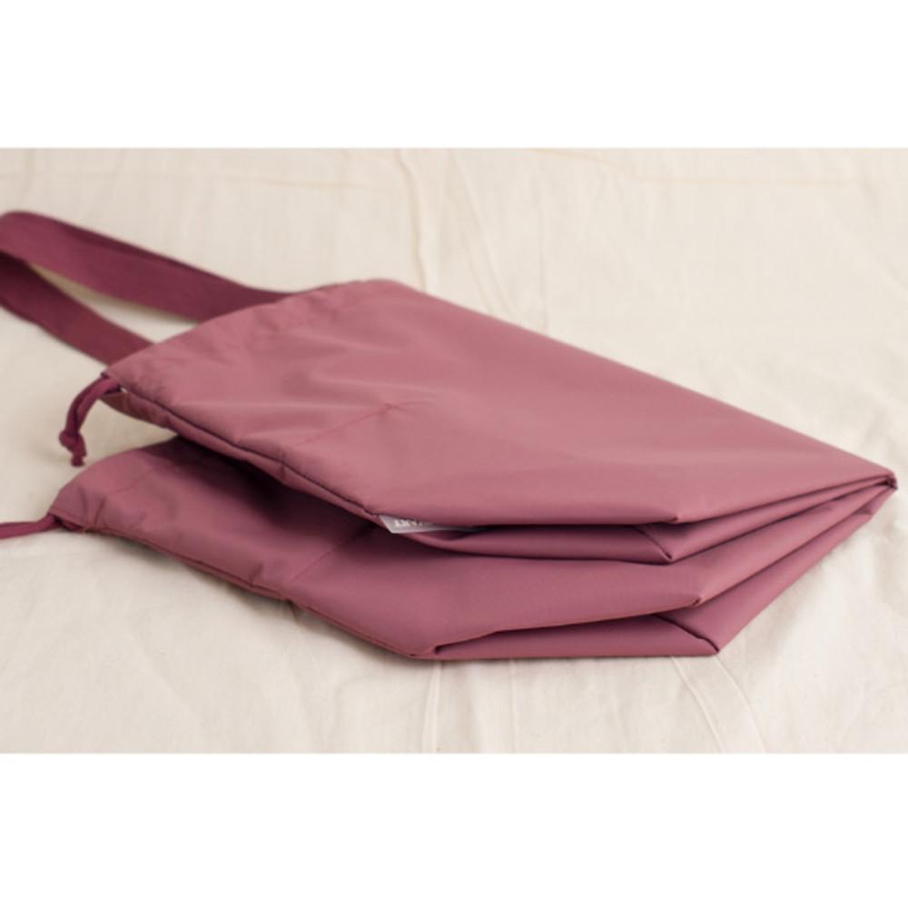 Foldable - Byfulldesign Travelus travel pocket drawstring shoulder tote bag