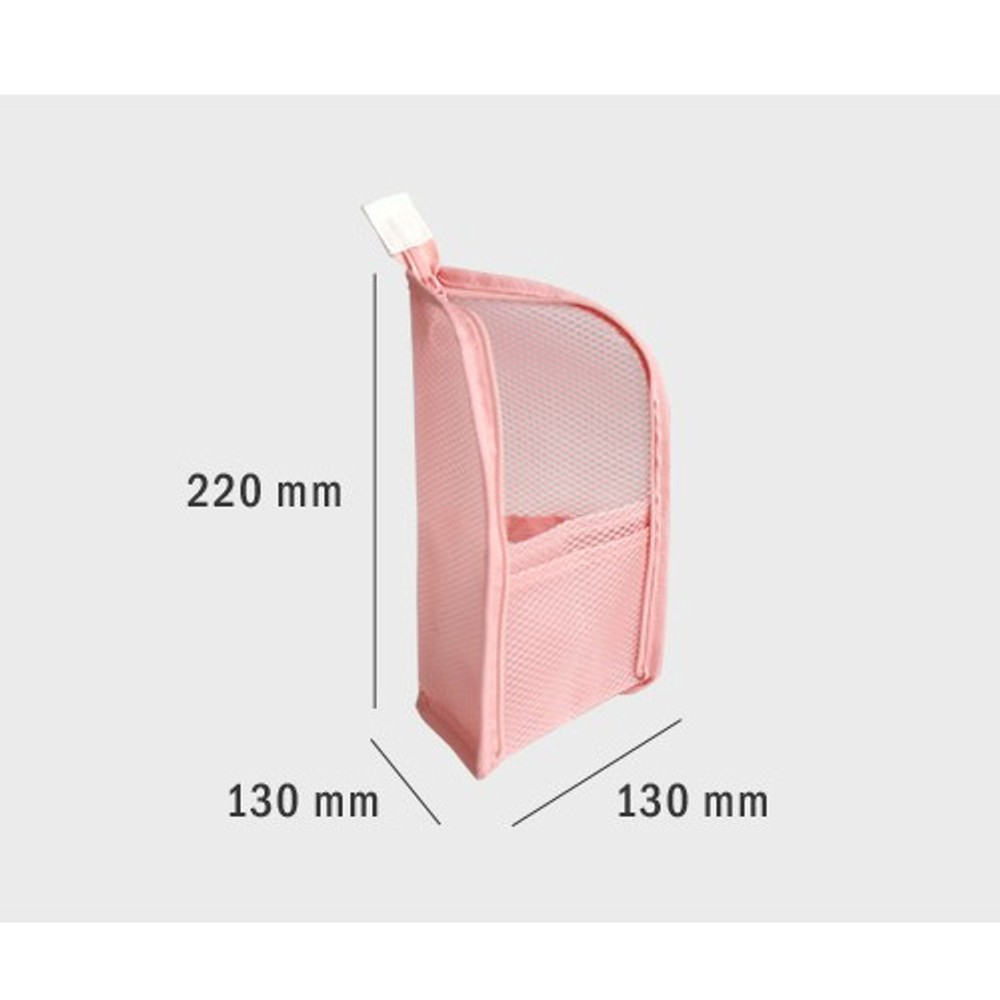 Size - ICONIC Travel standing zipper toiletry pouch bag
