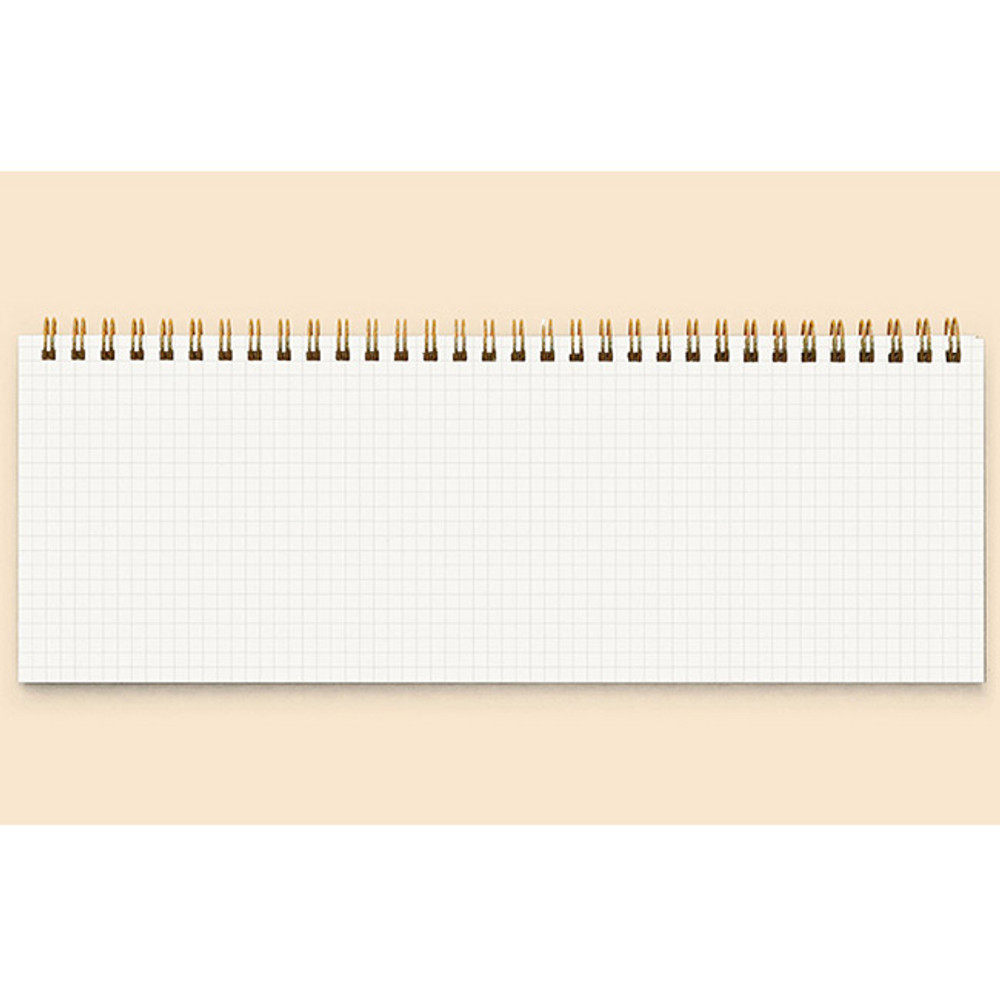 Grid memo - Creative spiral dateless weekly desk planner