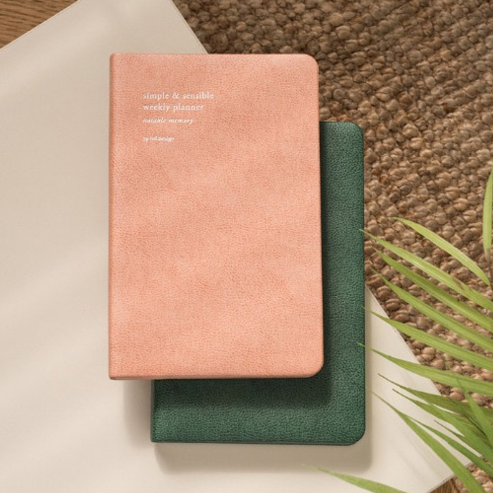 Byfulldesign 2019 Slim and sensible medium dated weekly planner