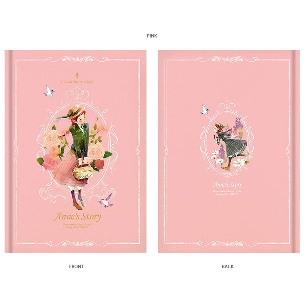 Pink - Anne story hardcover dateless daily diary