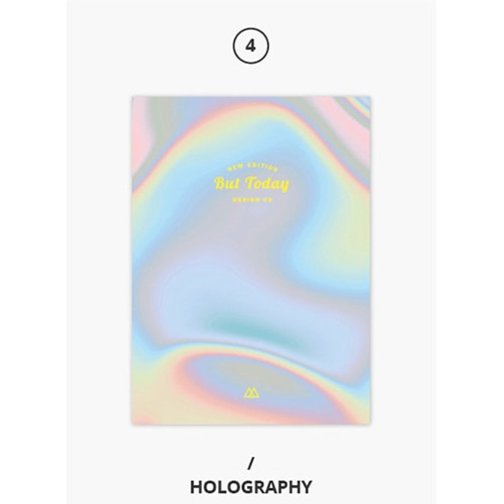 Holography - But today dateless weekly diary agenda ver5