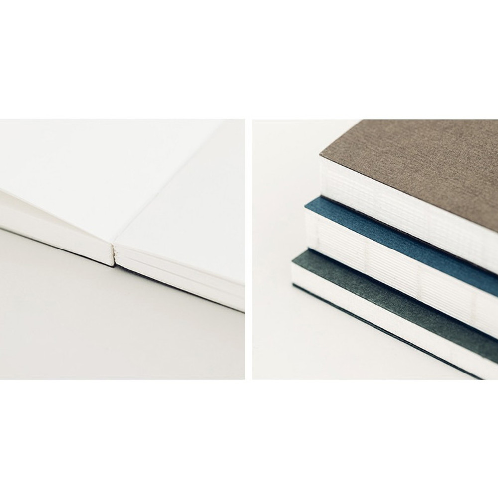 Detail of Meaningful time record plain drawing notebook