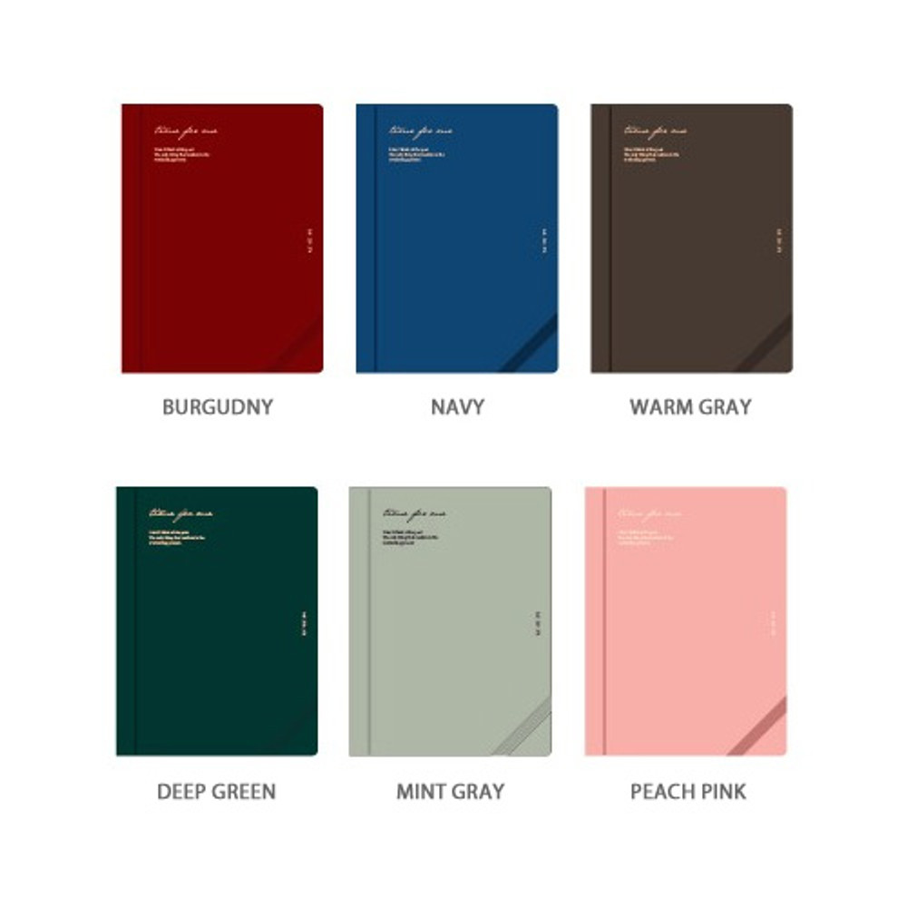 Color - Wanna This Time for me undated weekly diary planner