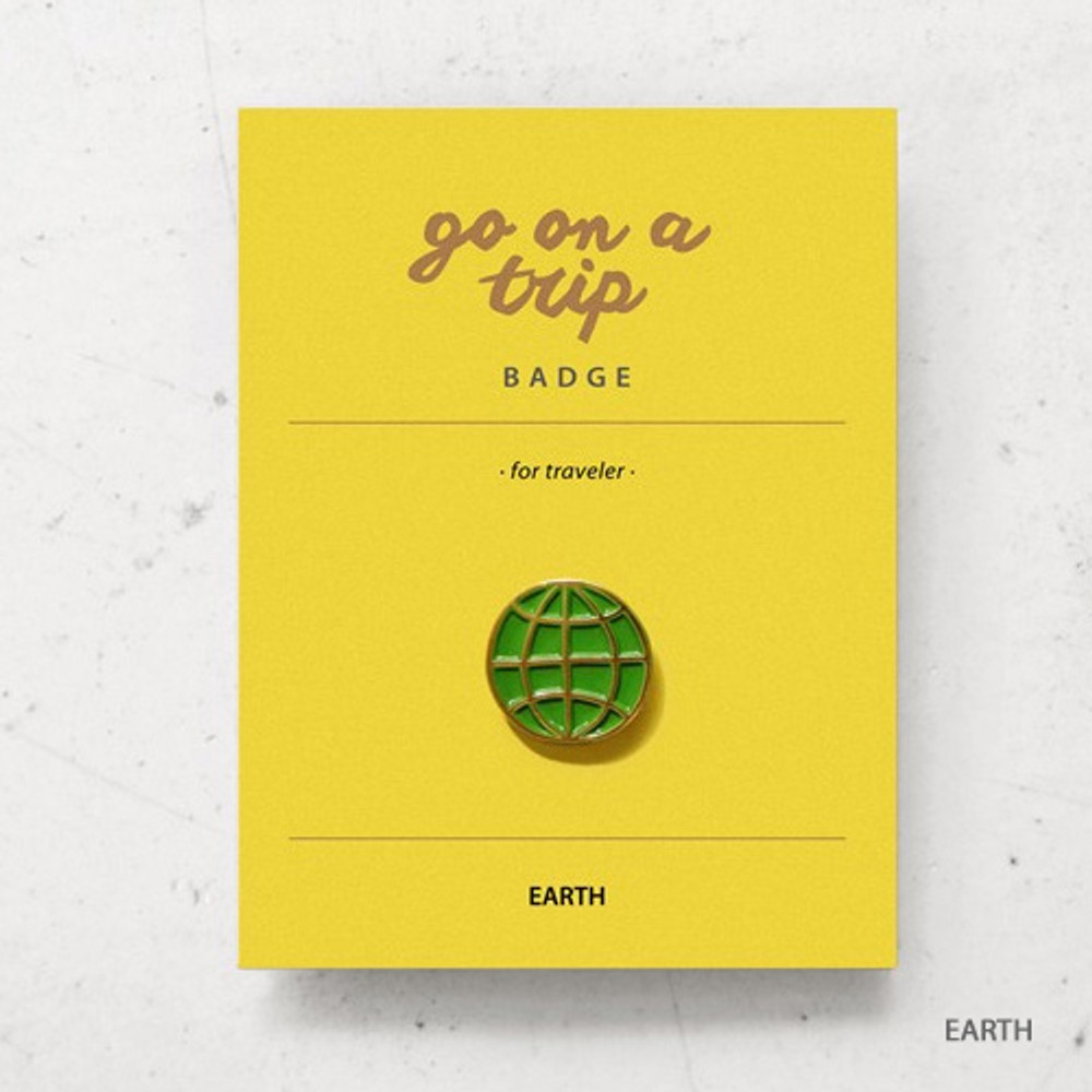 Earth - gyou Go on a trip badge