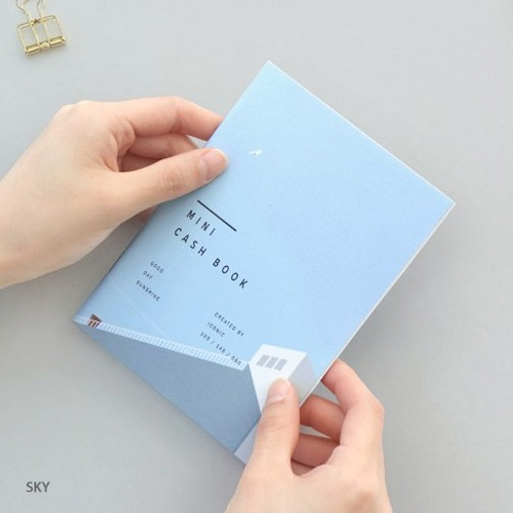 Sky - ICONIC Mini A6 size cash book planner