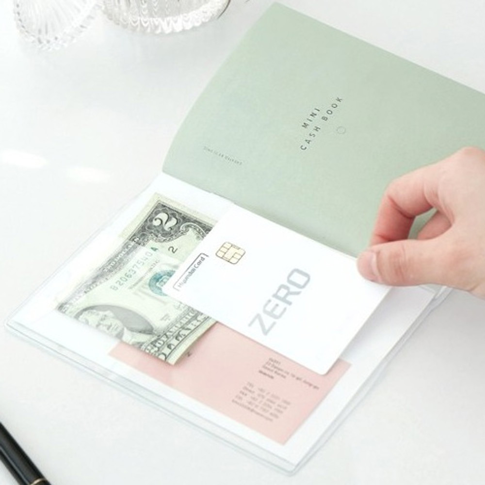 Inner pocket - ICONIC Mini A6 size cash book planner
