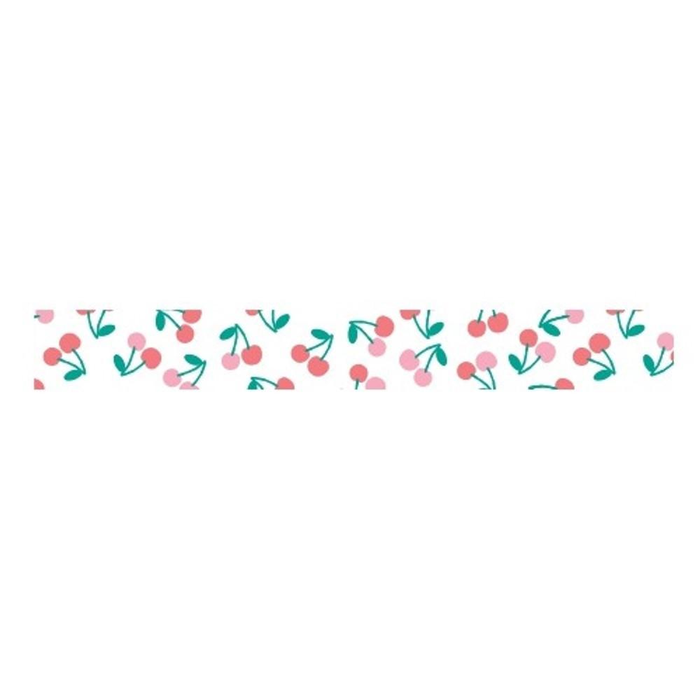 Dailylike Sweet cherry single roll washi masking tape