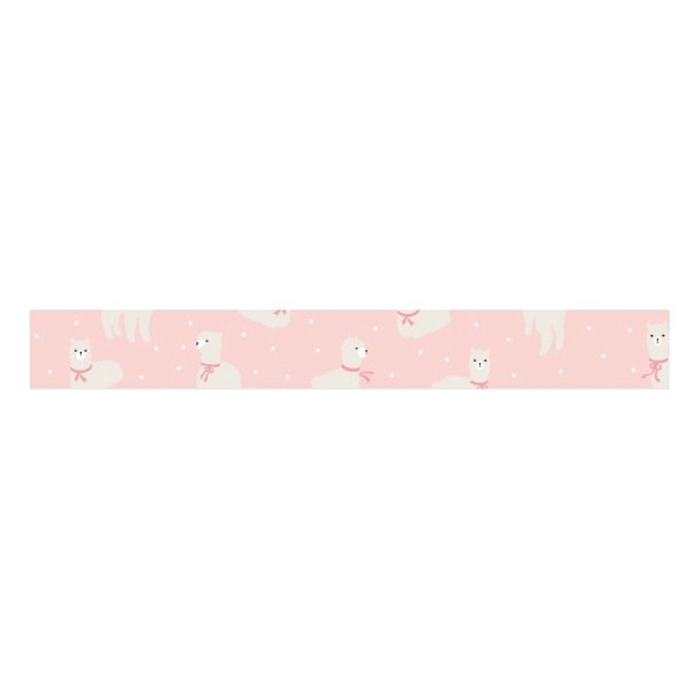 Dailylike Alpaca single roll washi masking tape