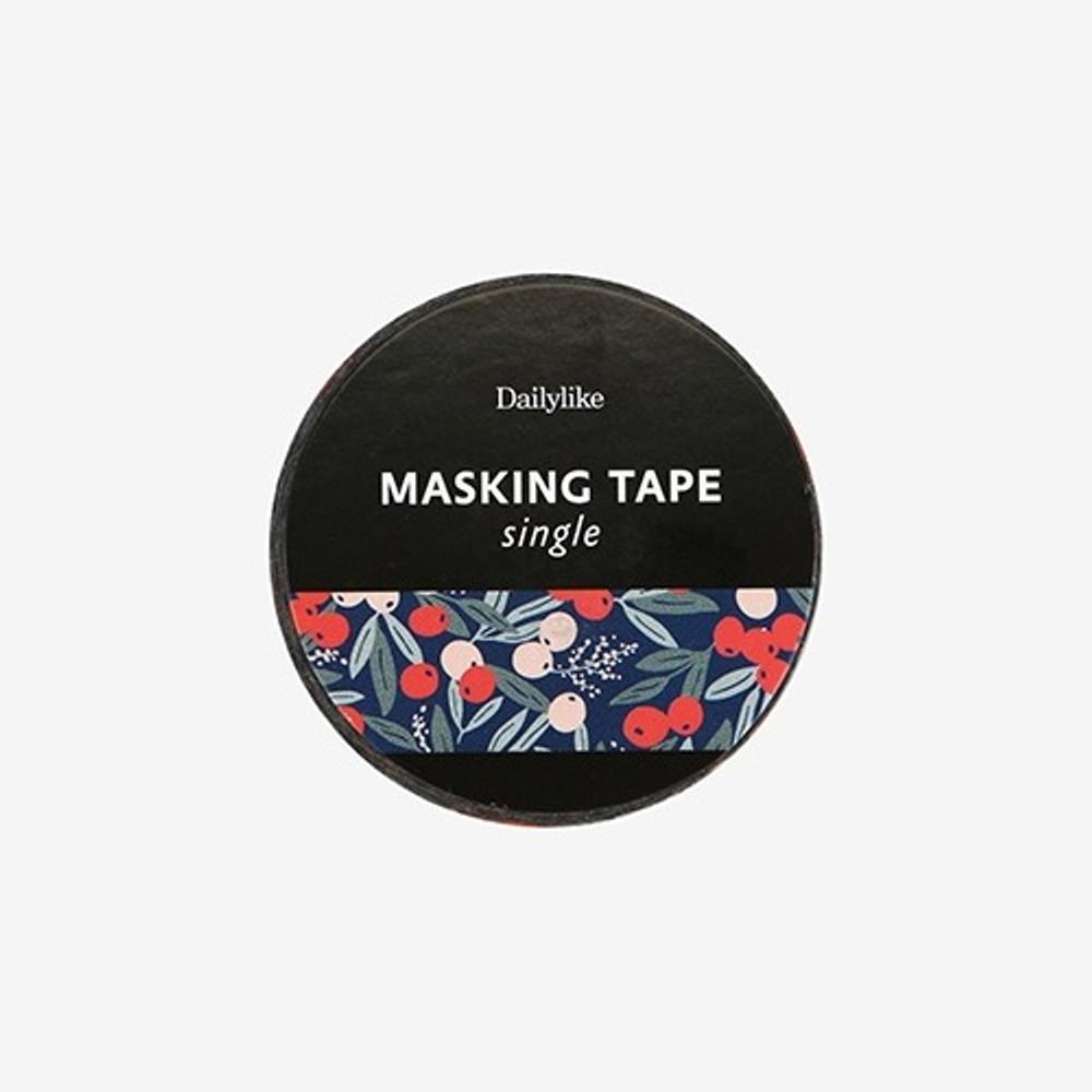 Dailylike Manchu cherry single roll washi masking tape