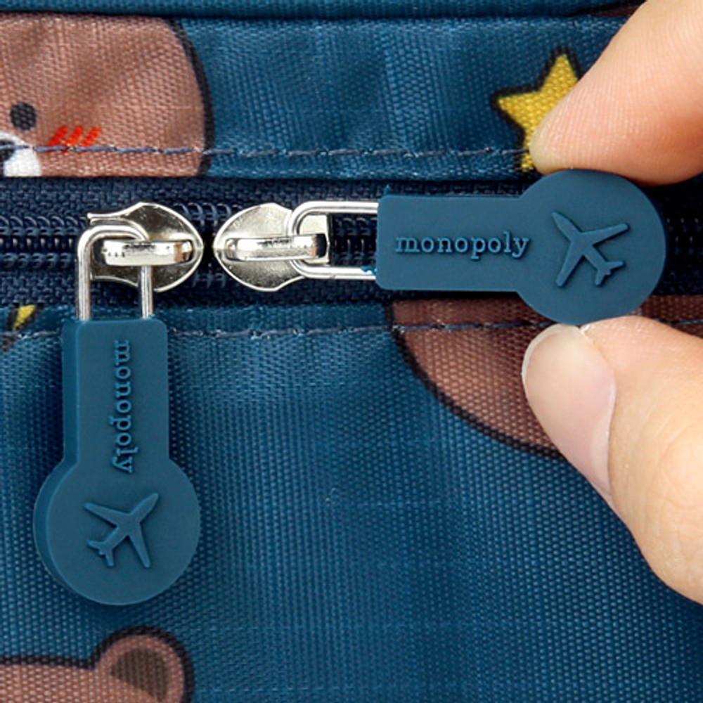 Rubber slider - Line friends travel underwear pouch organizer