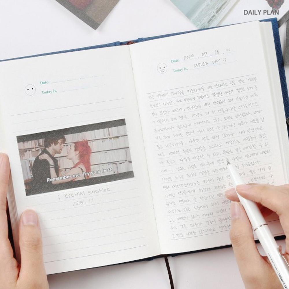 Daily plan - Wanna This Classic journal dateless daily agenda diary