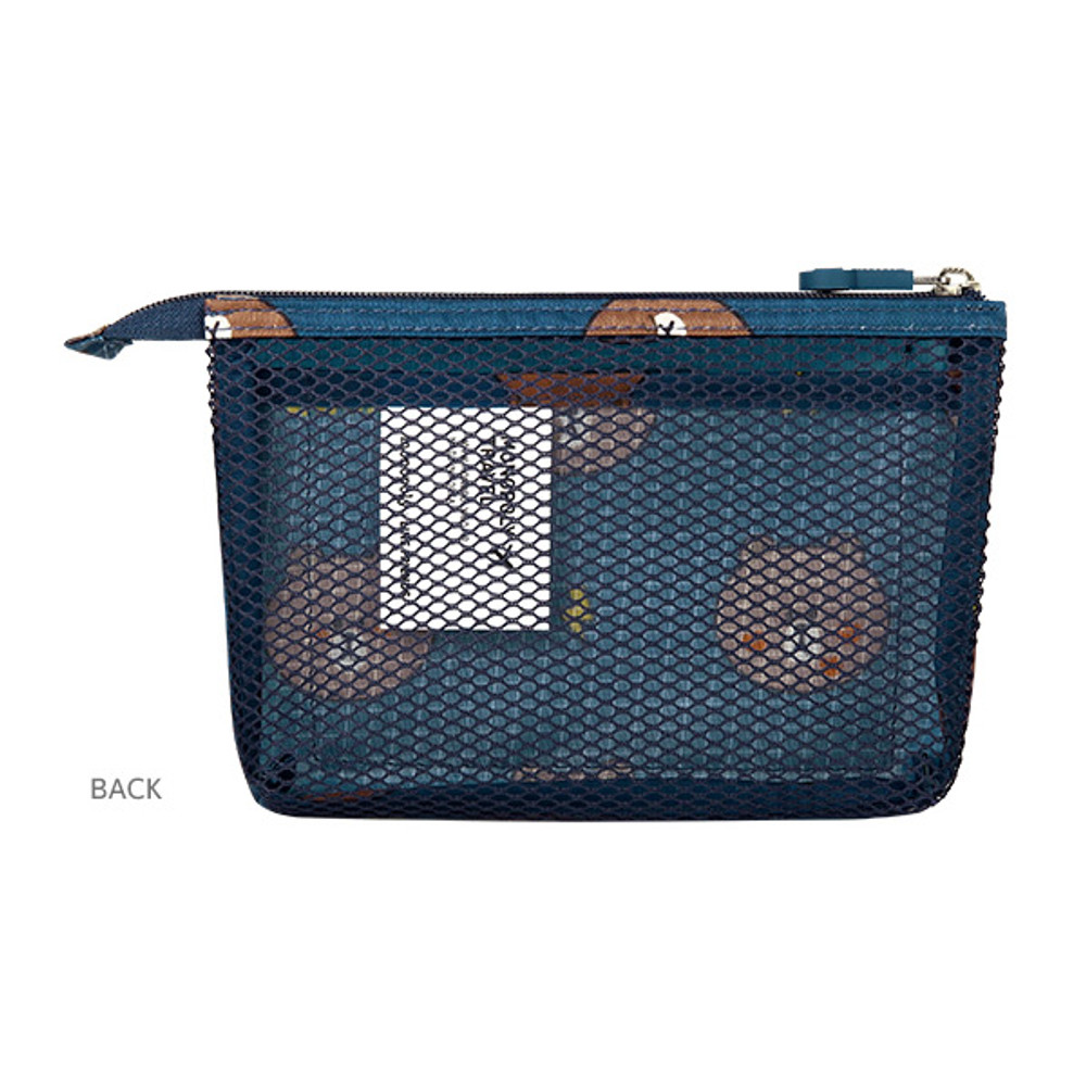 Back - Line friends travel mesh small pocket pouch