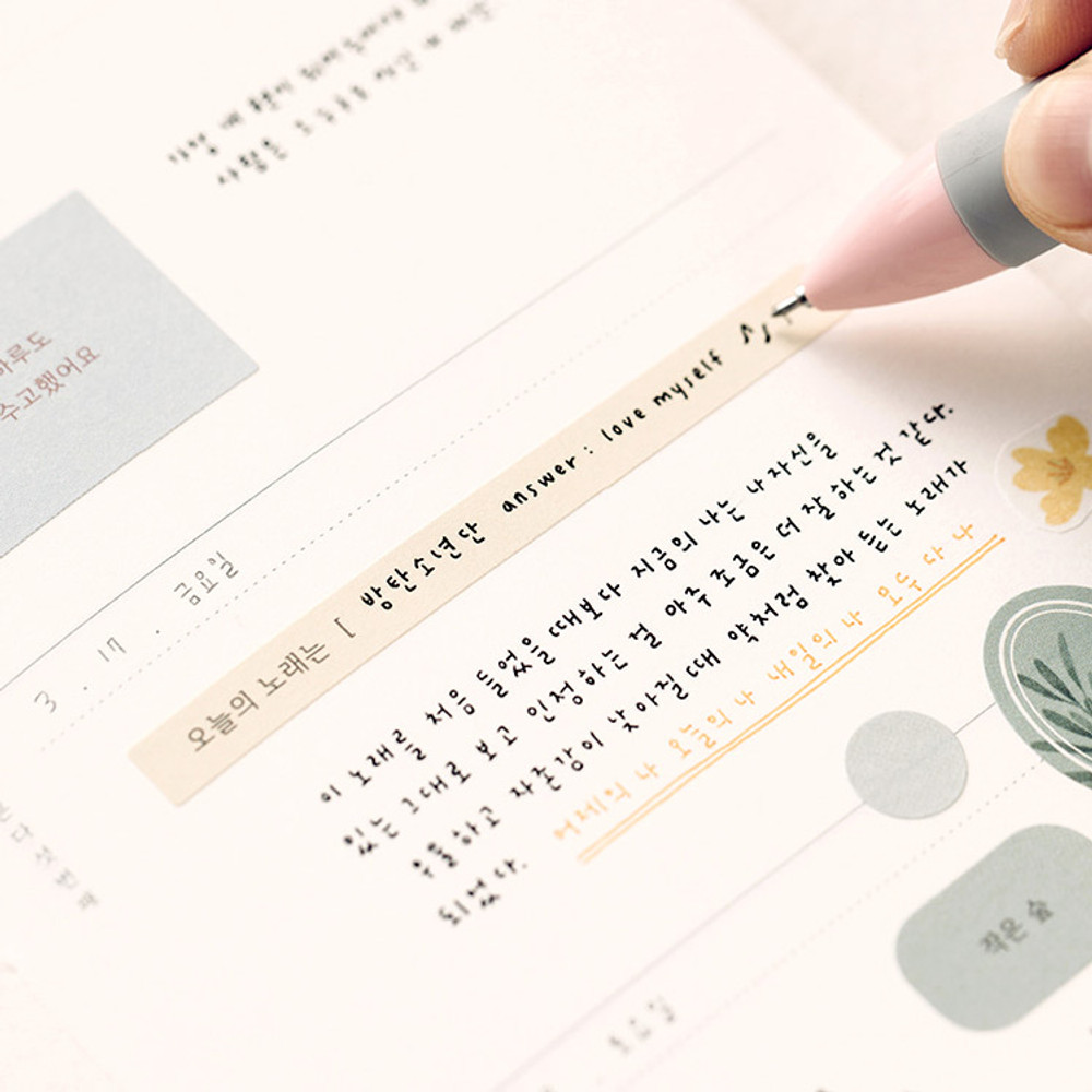 Livework Meaningful time deco sticker set