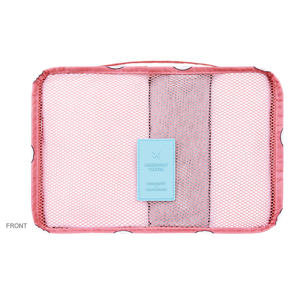 Front - Line friends small travel packing cube organizer bag