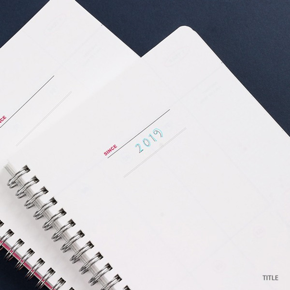 Intro - Wanna This Clear undated weekly planner