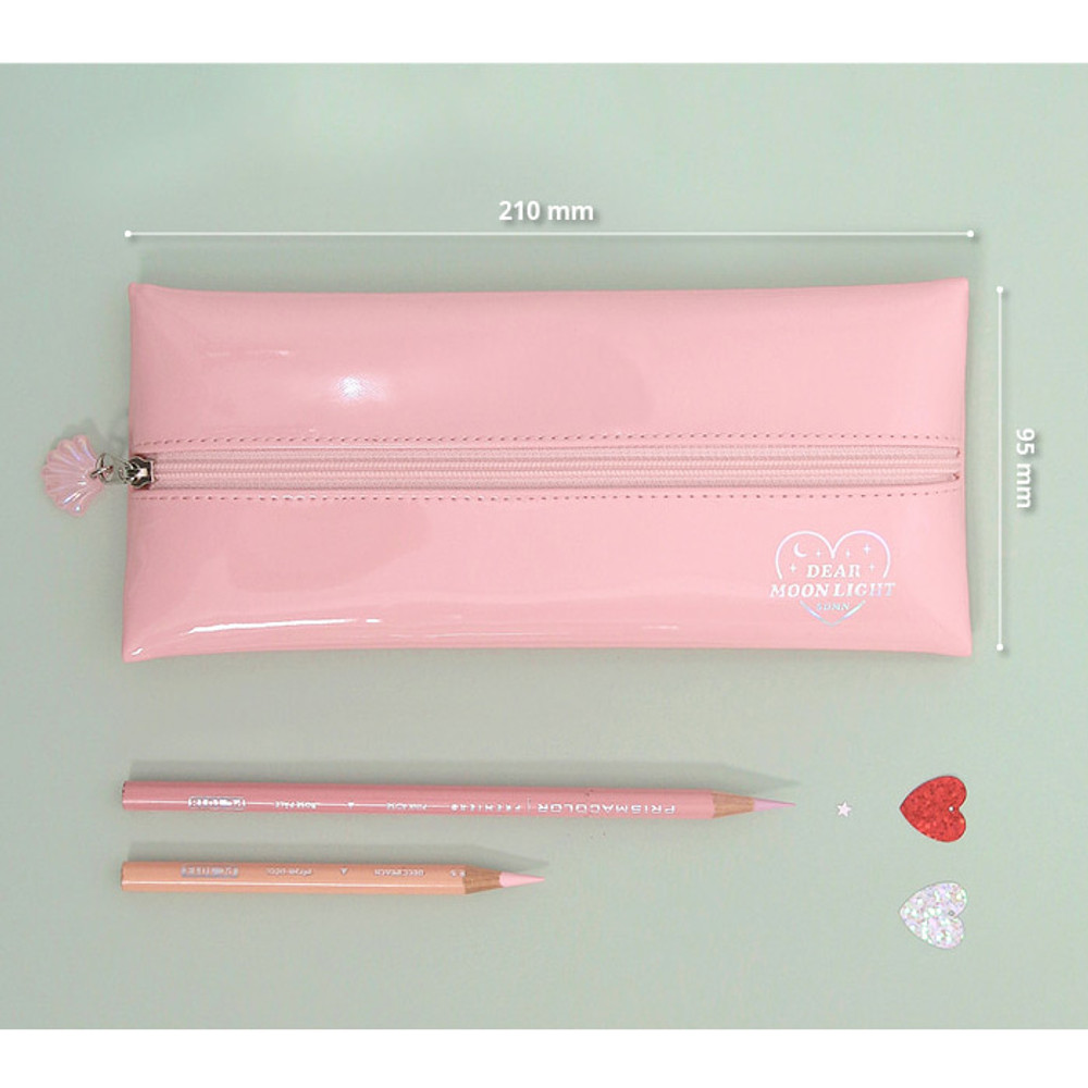 Size - Second mansion Dear moonlight zipper pencil case pouch