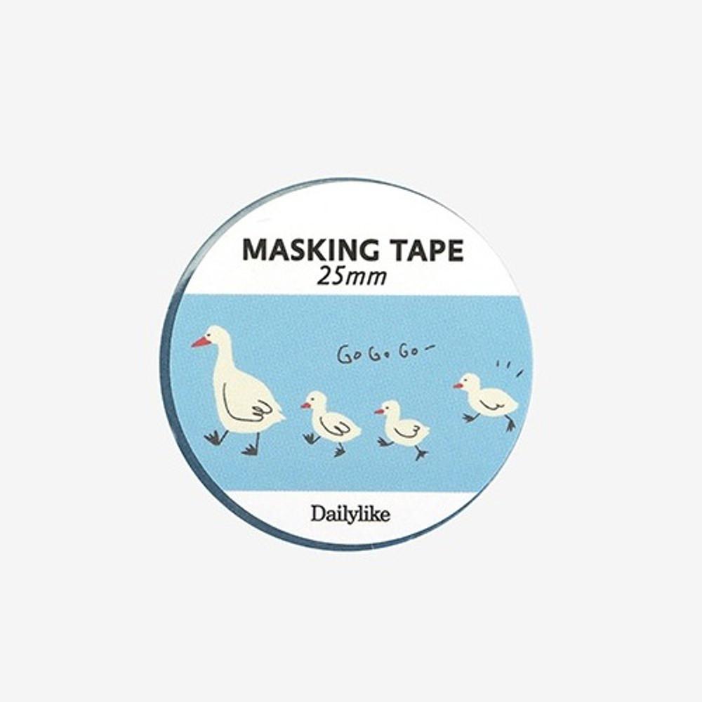 Dailylike Deco 25mm single roll masking tape - Duck