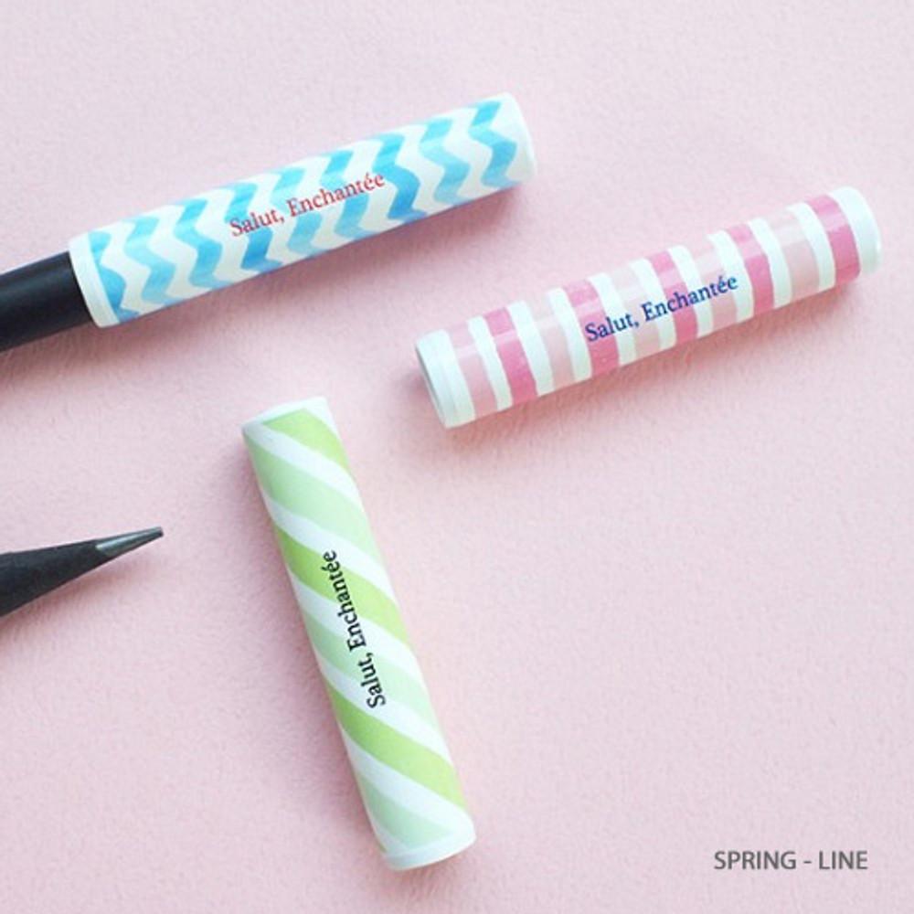 Spring-line - Hello Today Design pencil cap set