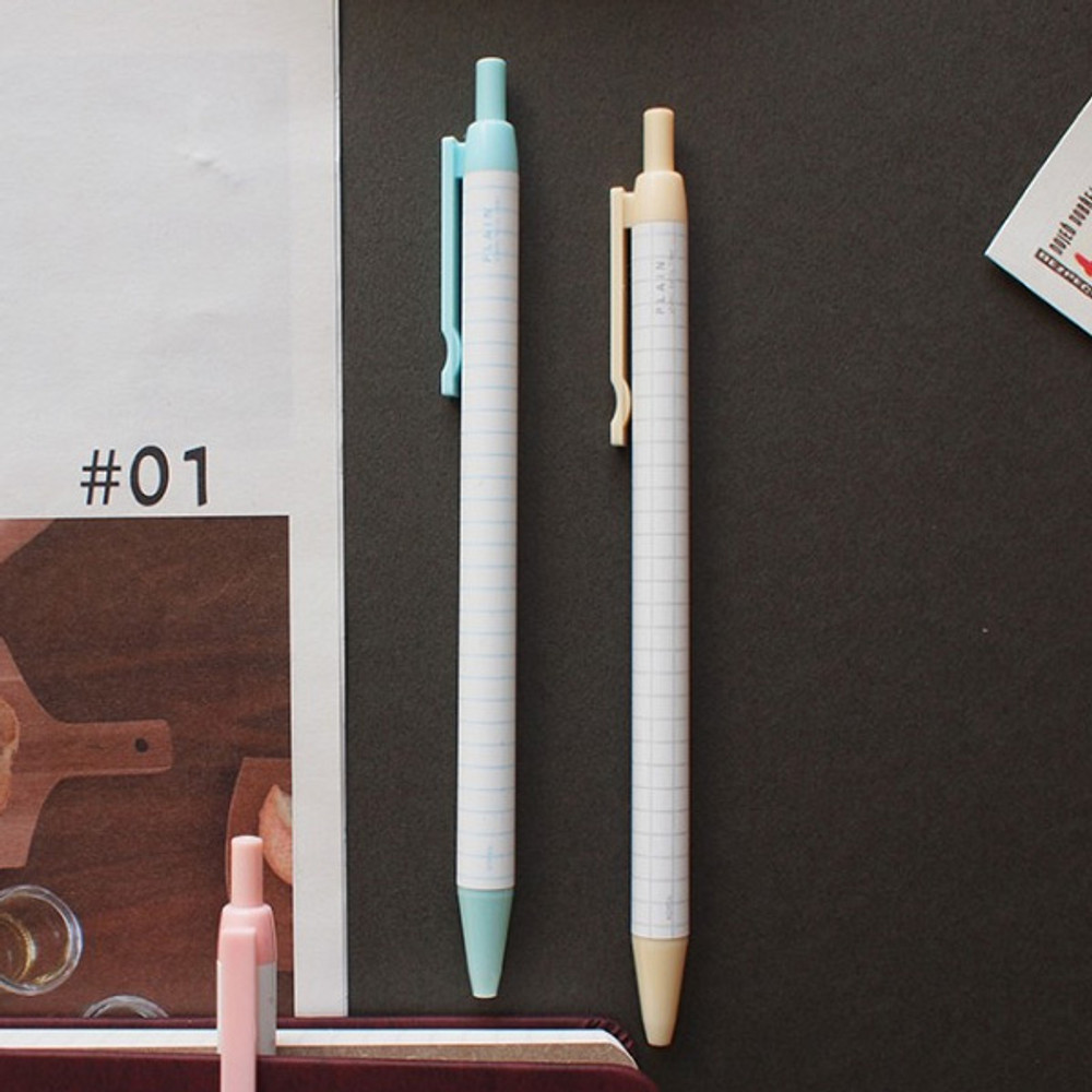 Hello Today Plain color ink 0.5 mm ballpoint pen - A type