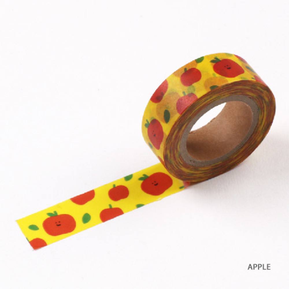 Apple - Fruits pattern masking tape 15mm X 10m