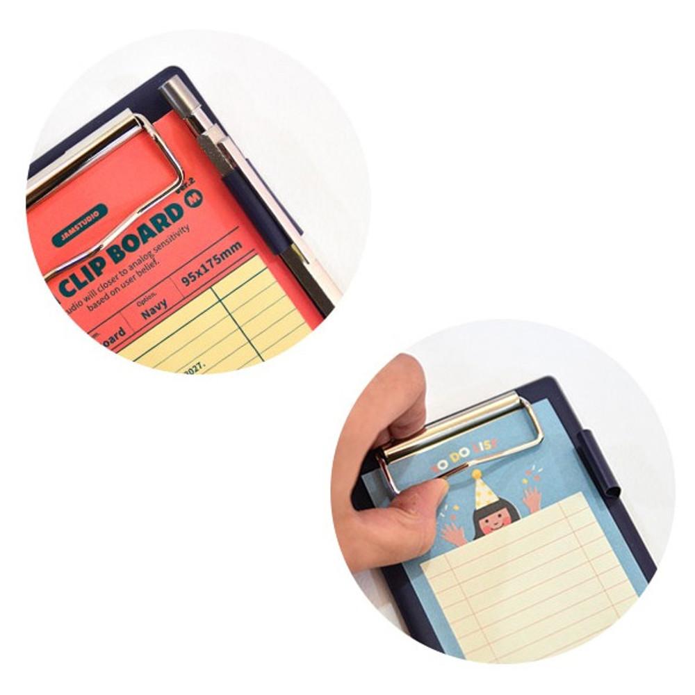 Pen holder - Jam studio Jam small clipboard with pen holder ver2