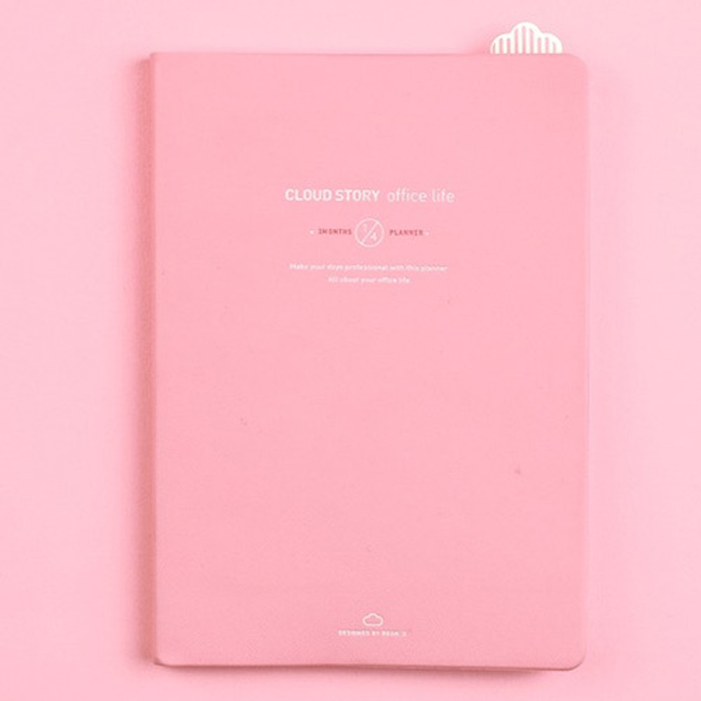 Pink - Cloud story office life dateless daily planner