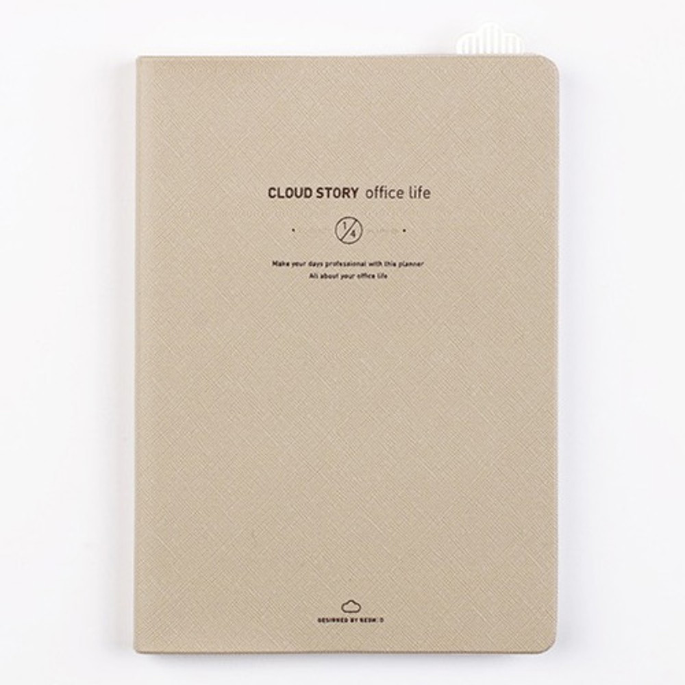 Ivory - Cloud story office life dateless daily planner