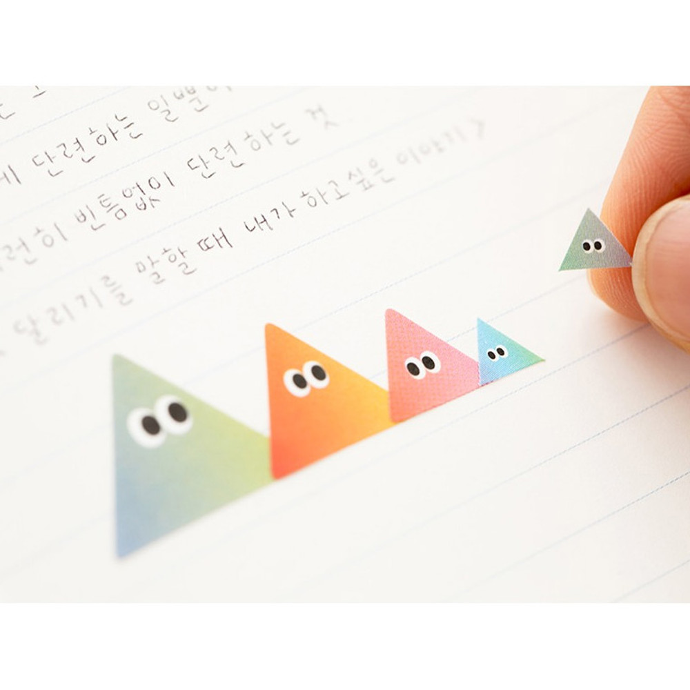 Example of use - Som Som gradation deco sticker set of 10 sheets