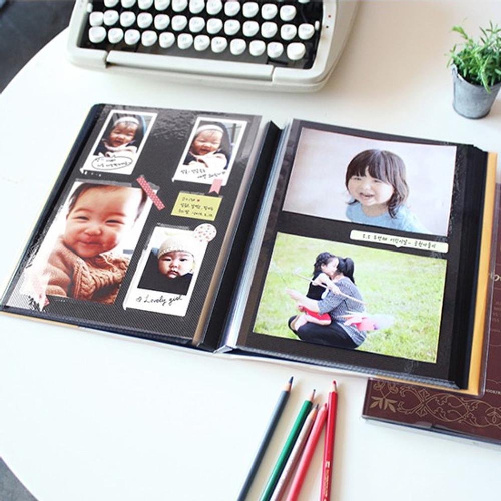Example of use - Photo storage self adhesive photo album ver.2