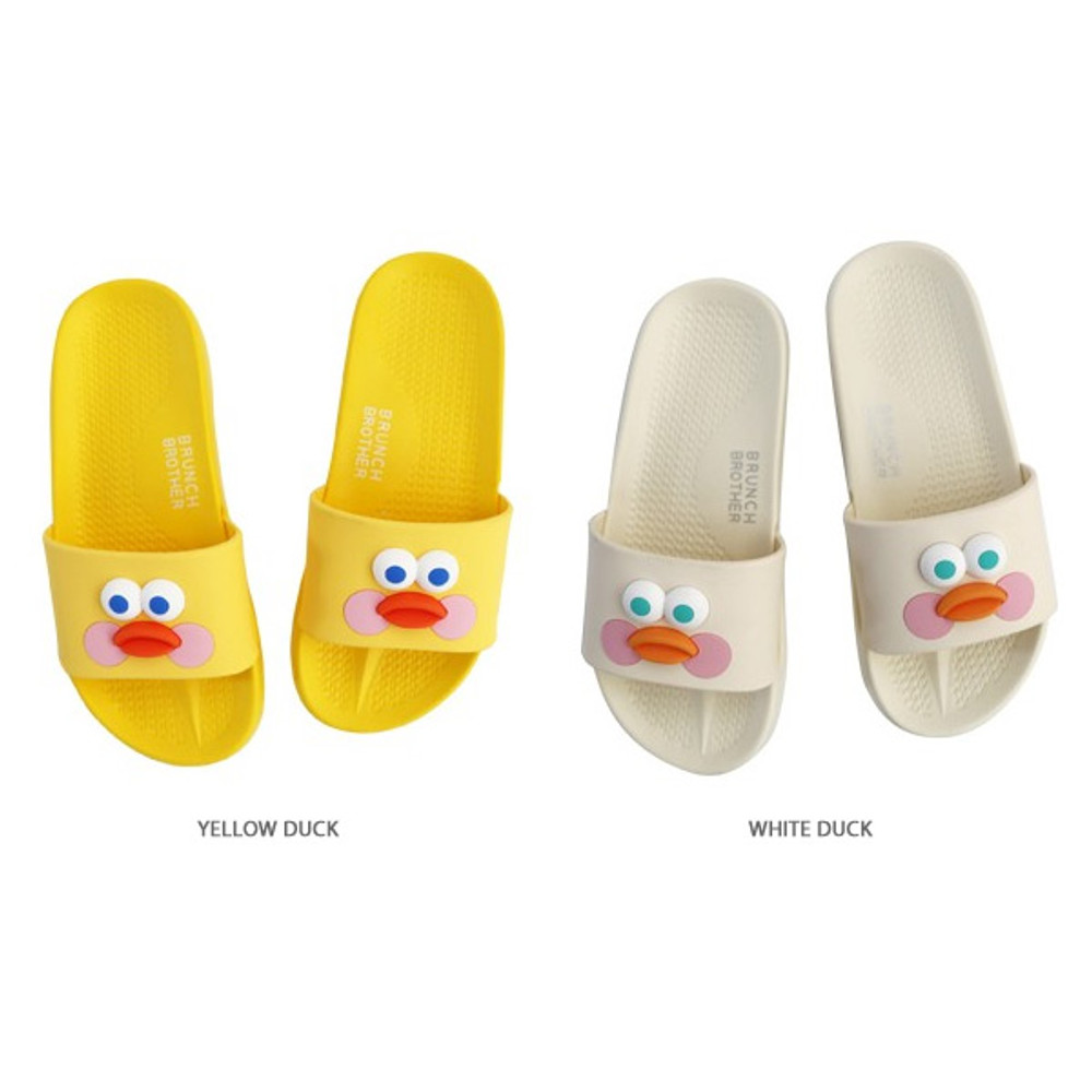 Color - Brunch brother popeye cute slide slipper sandal ver2