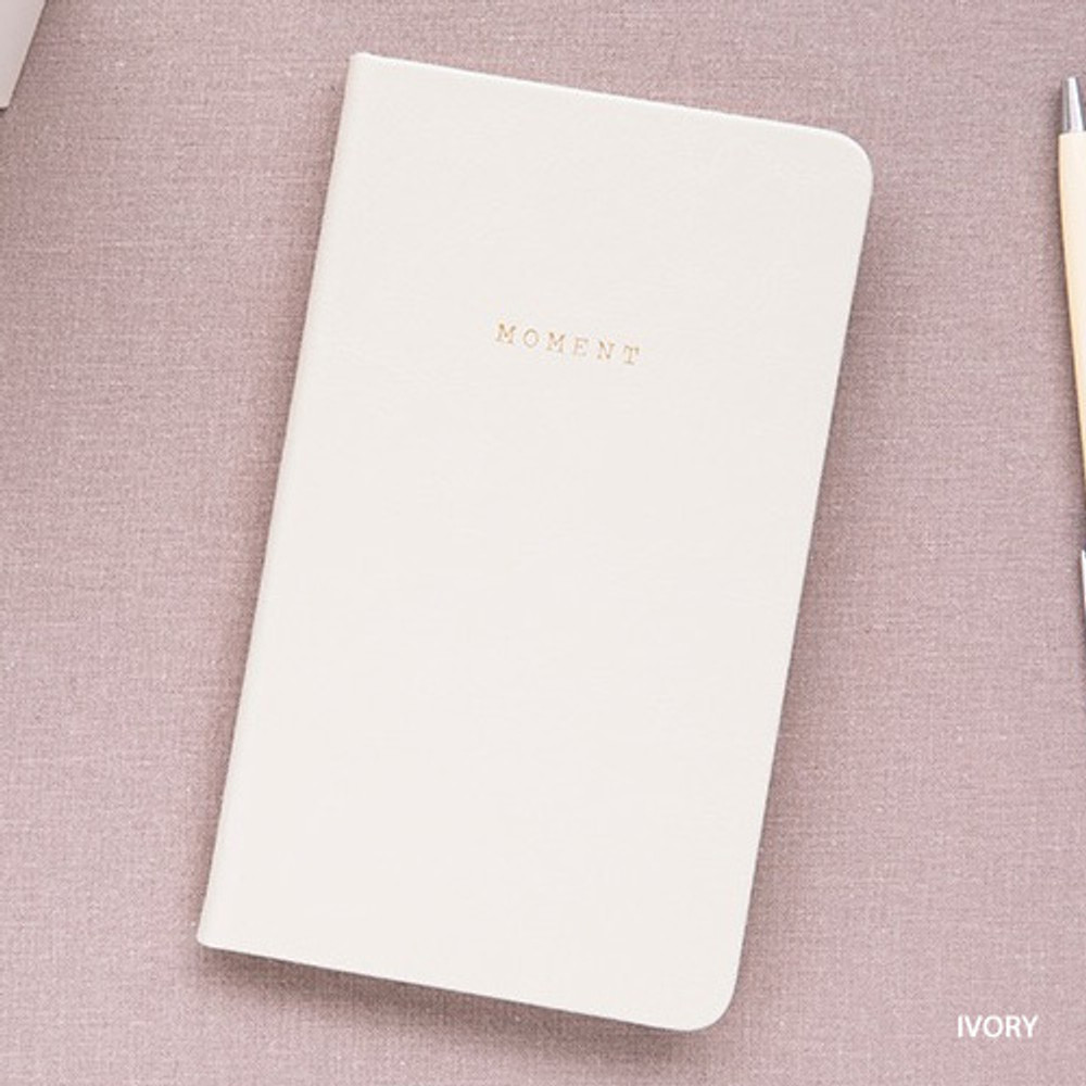Ivory - Livework Moment small dateless daily diary planner