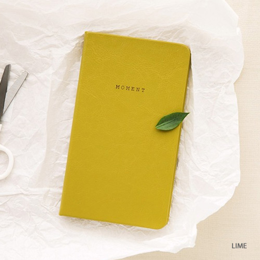 Lime - Livework Moment small dateless daily diary planner