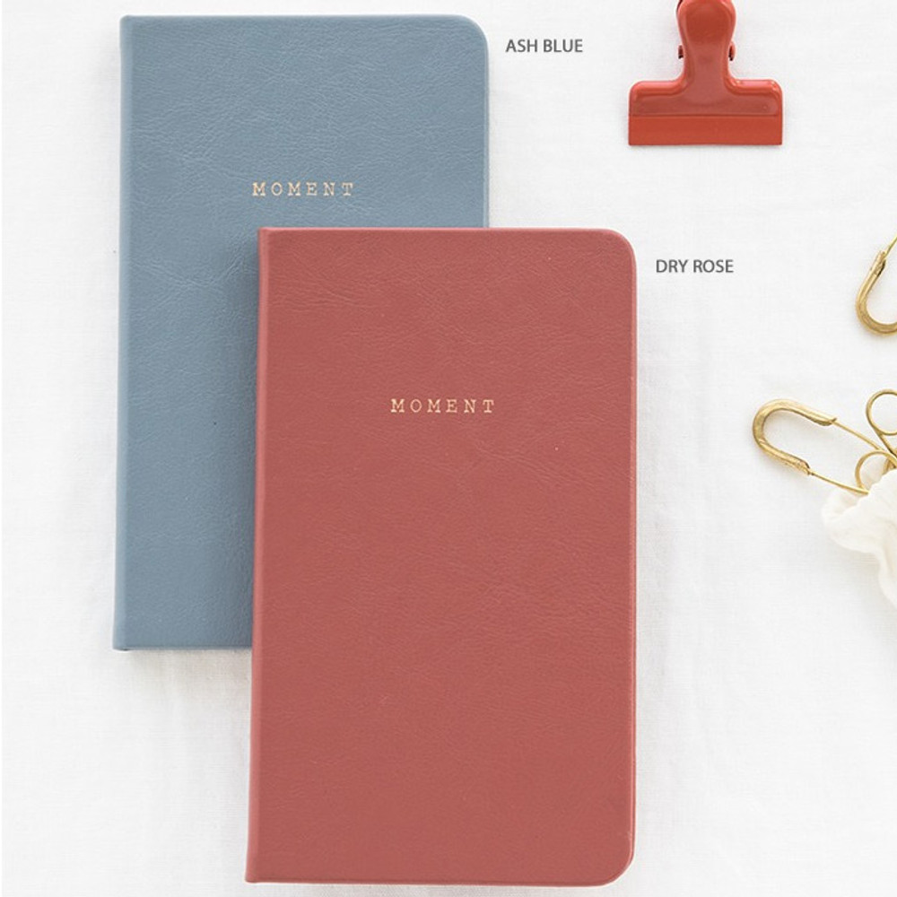 Ash blue, dry rose - Livework Moment small dateless daily diary planner