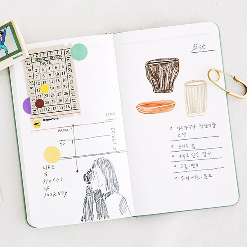 Note - Livework Moment small dateless daily diary planner