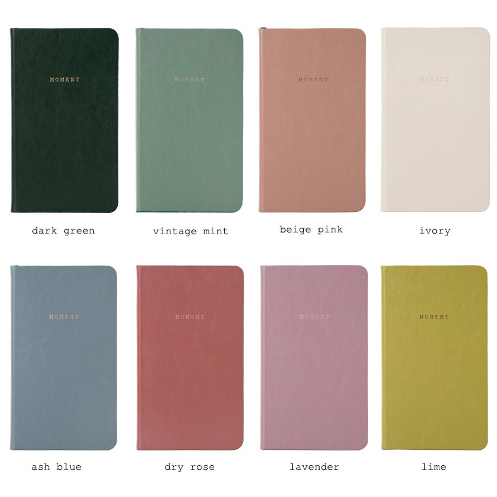 Color - Moment small dateless daily diary planner ver6
