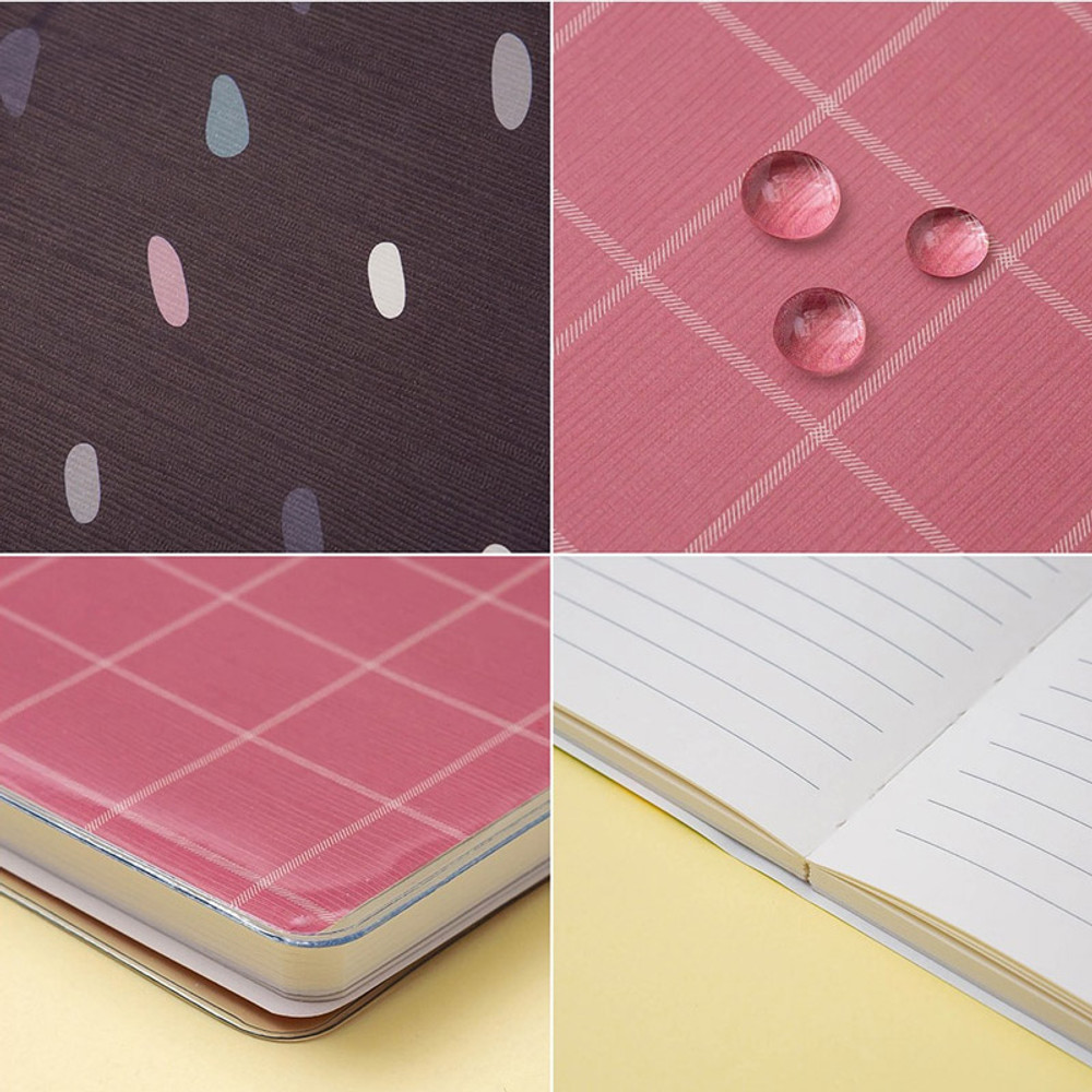 Ardium Soft pattern extra large lined school notebook
