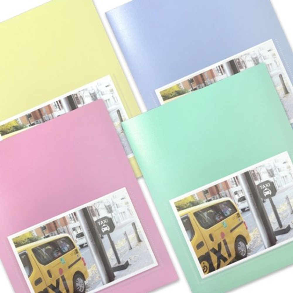 2young Pastel 4X6 slip in 160 pockets photo album