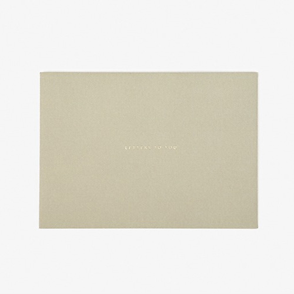 Envelope - Dailylike Daily letter paper and envelope set - Cherry