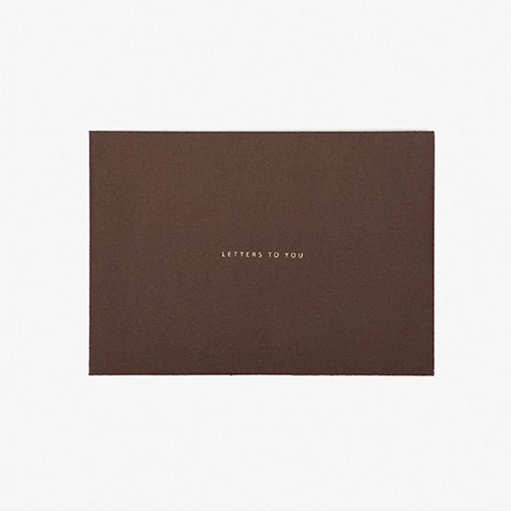 Envelope - Daily letter paper and envelope set - Welsh corgi
