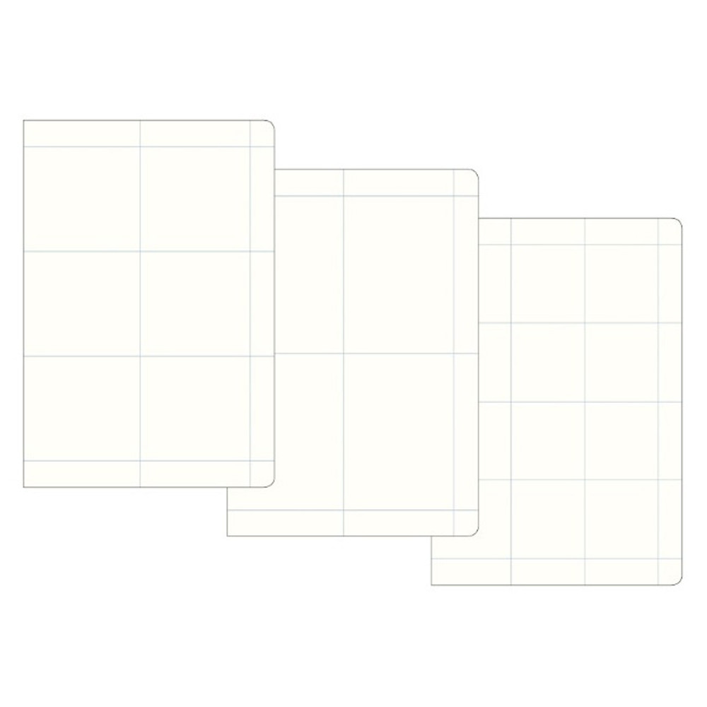 Grid notebook - Byfulldesign The way of remembering 3 type grid notebook
