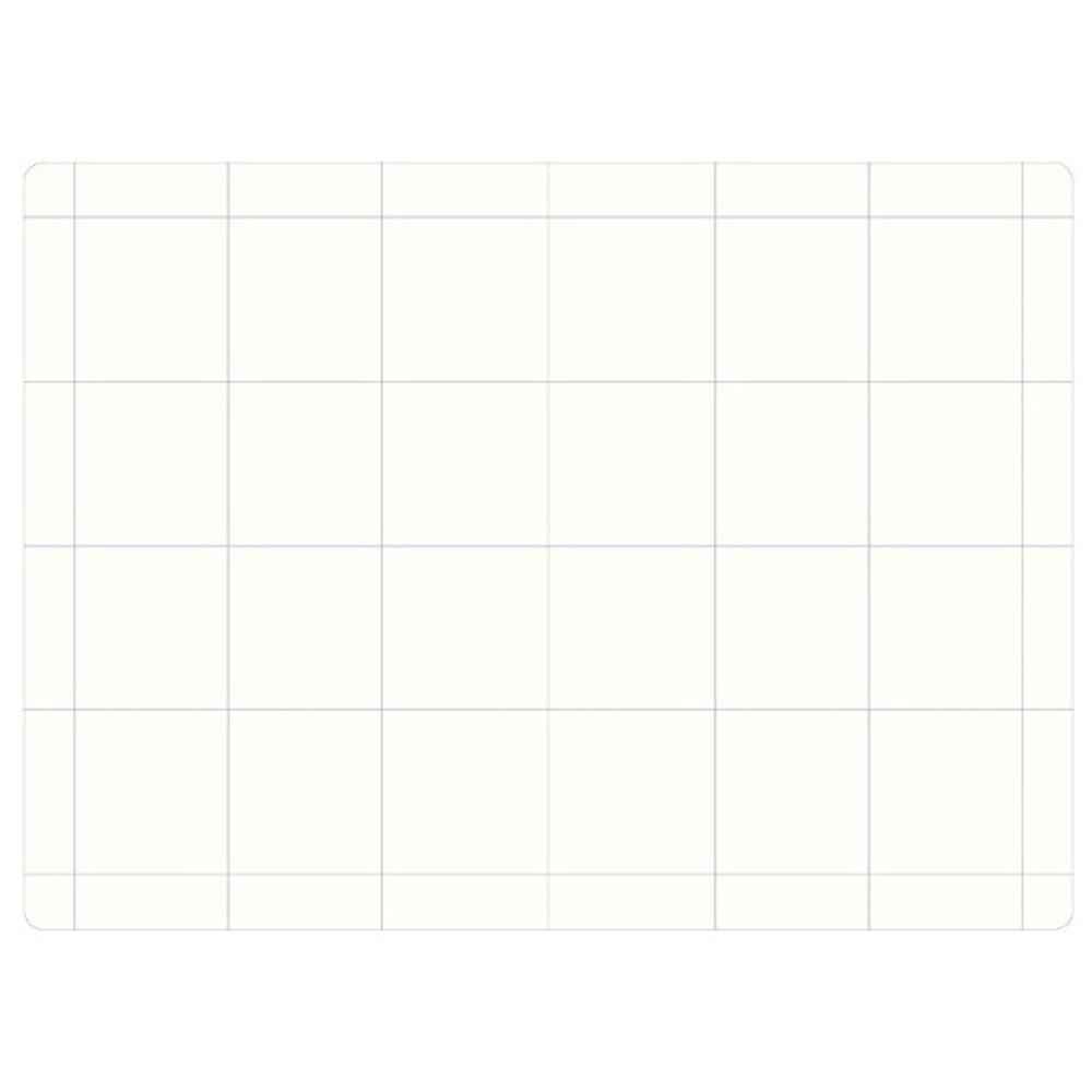 12 pieces grid - The way of remembering 3 type grid notebook