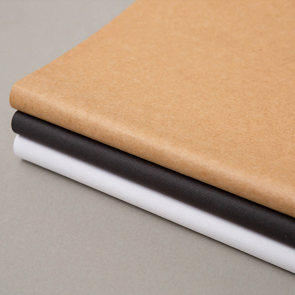 Soft cover - B+W kraft softcover large lined notebook