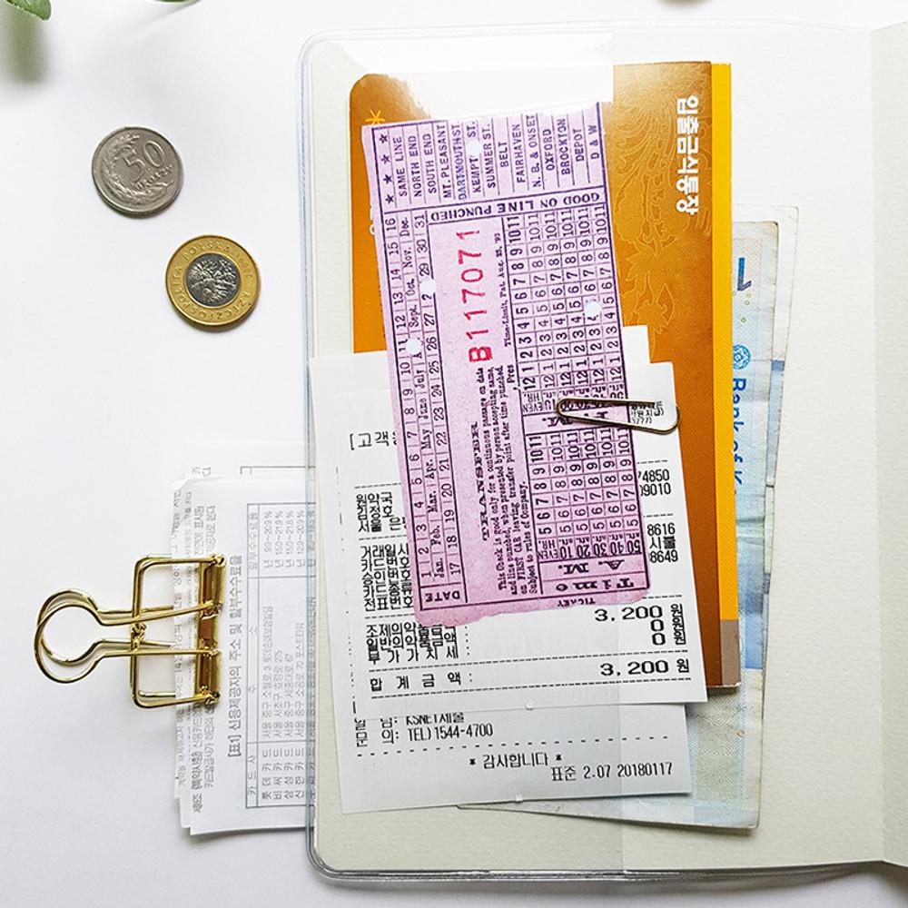 Inner pocket - O-CHECK Spring come cash book planner