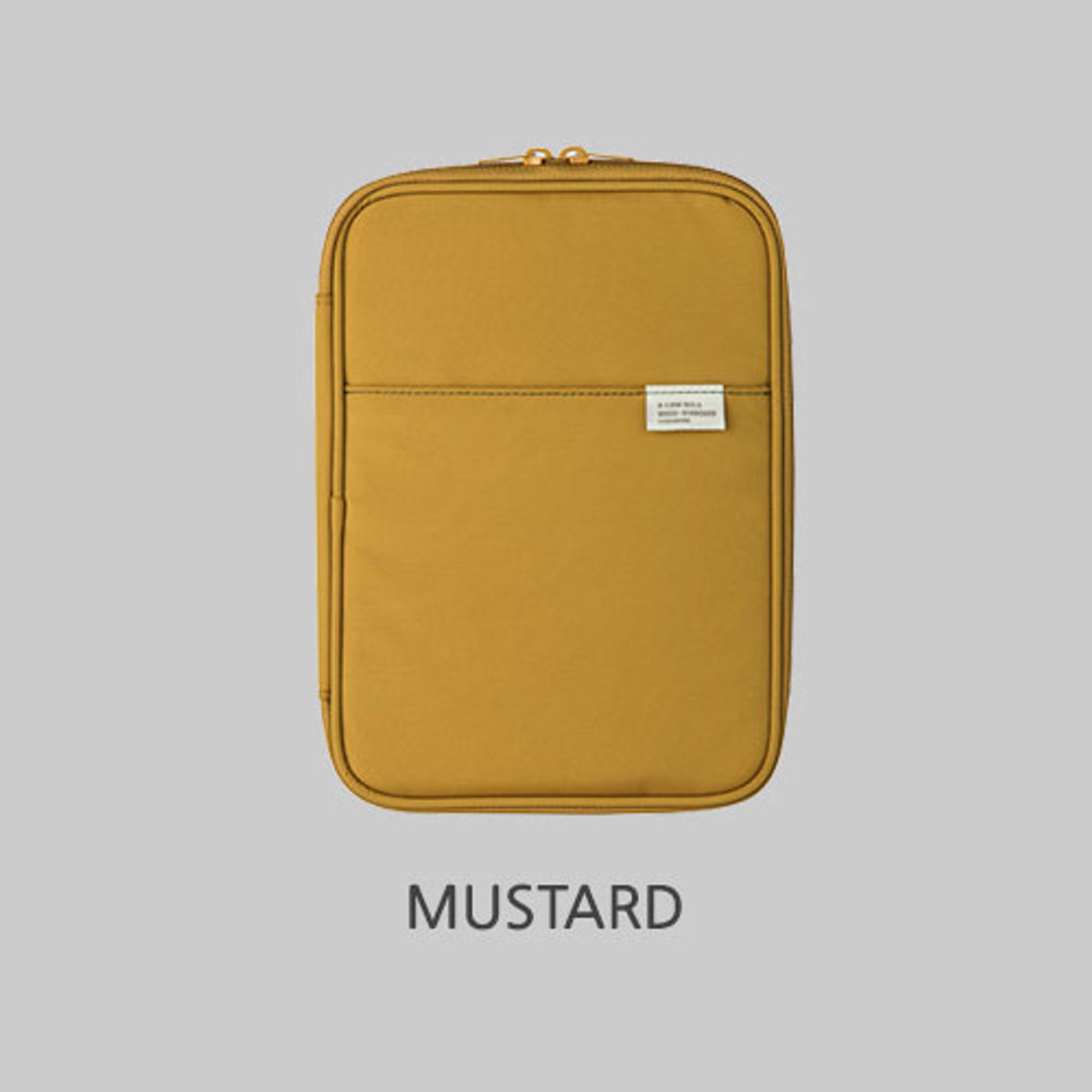 Mustard - A low hill basic pocket book reader diary pouch case ver5