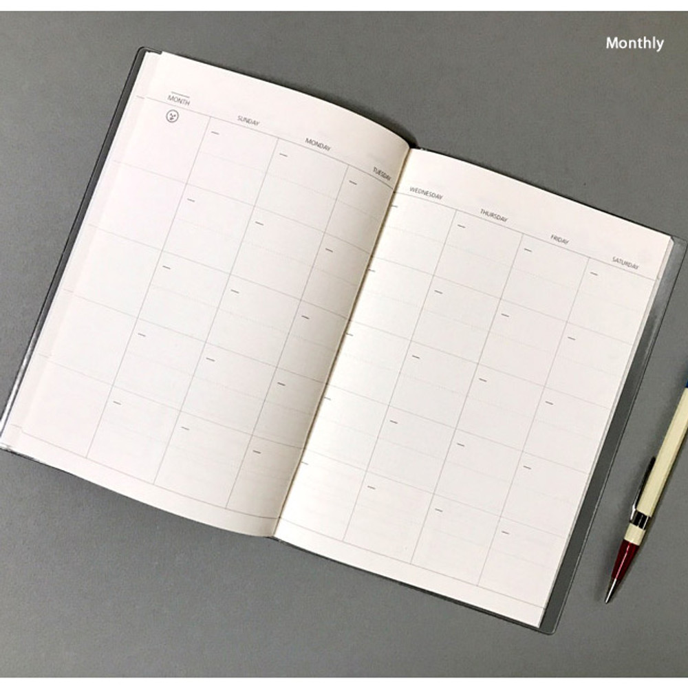 Monthly - Record 3 months dateless weekly diary
