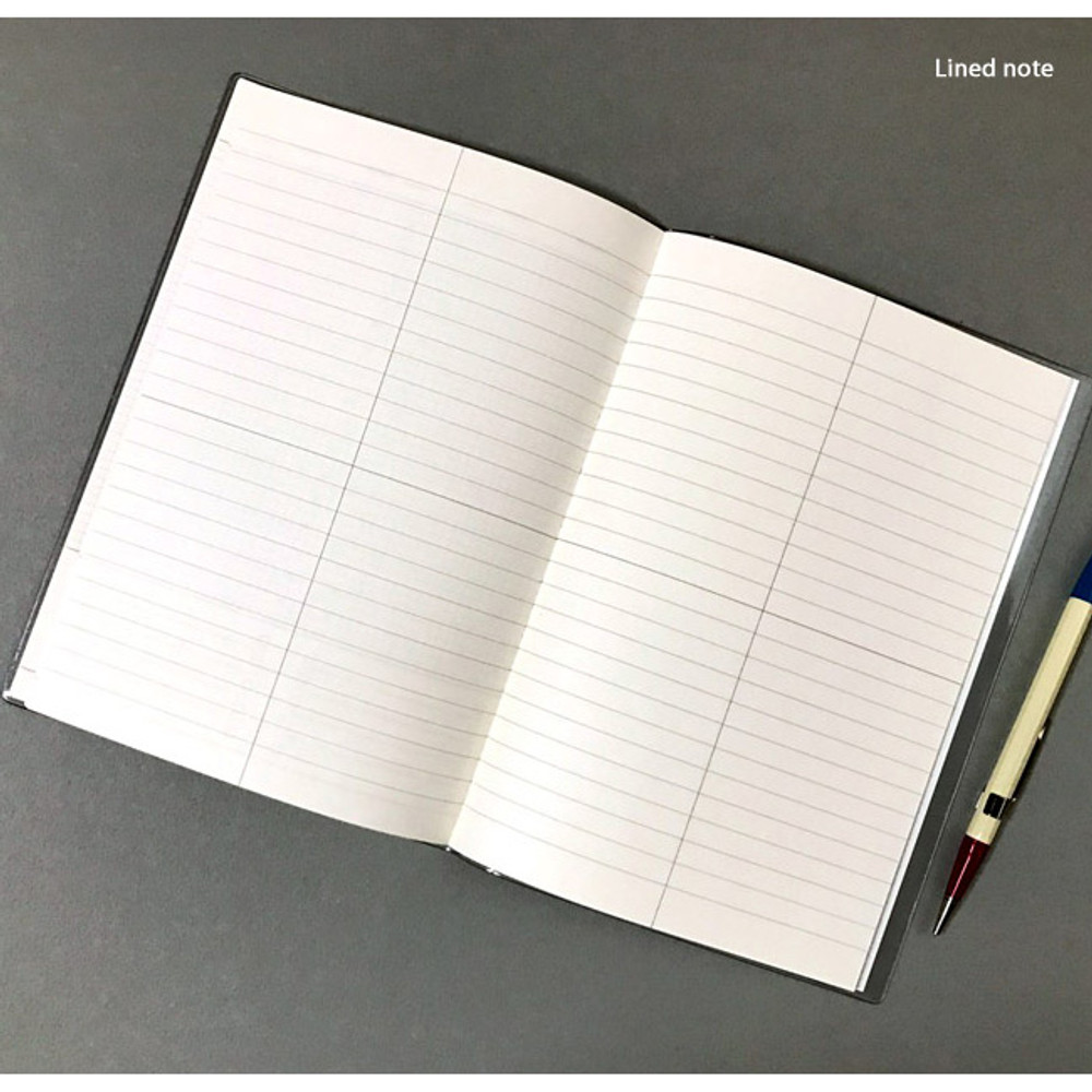 Lined note - Record 3 months dateless weekly diary