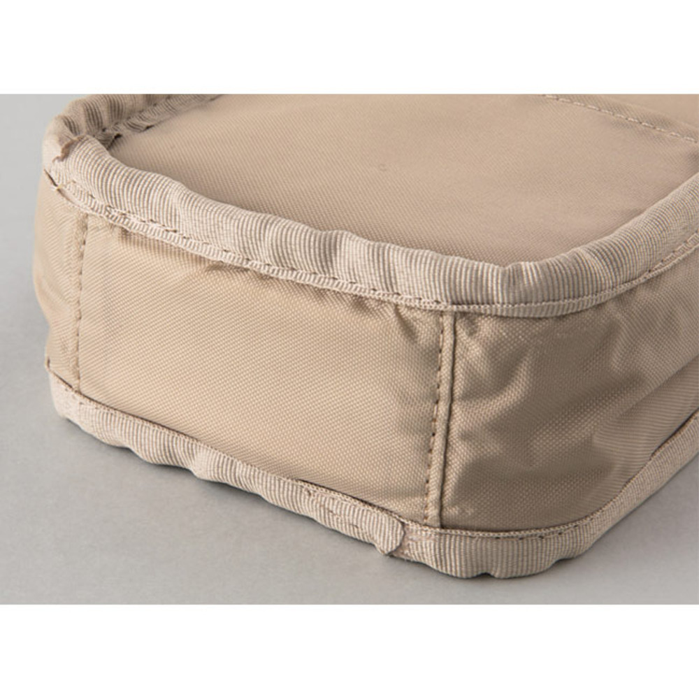 Extra padding layer - A low hill basic pocket cable zipper pouch case ver5