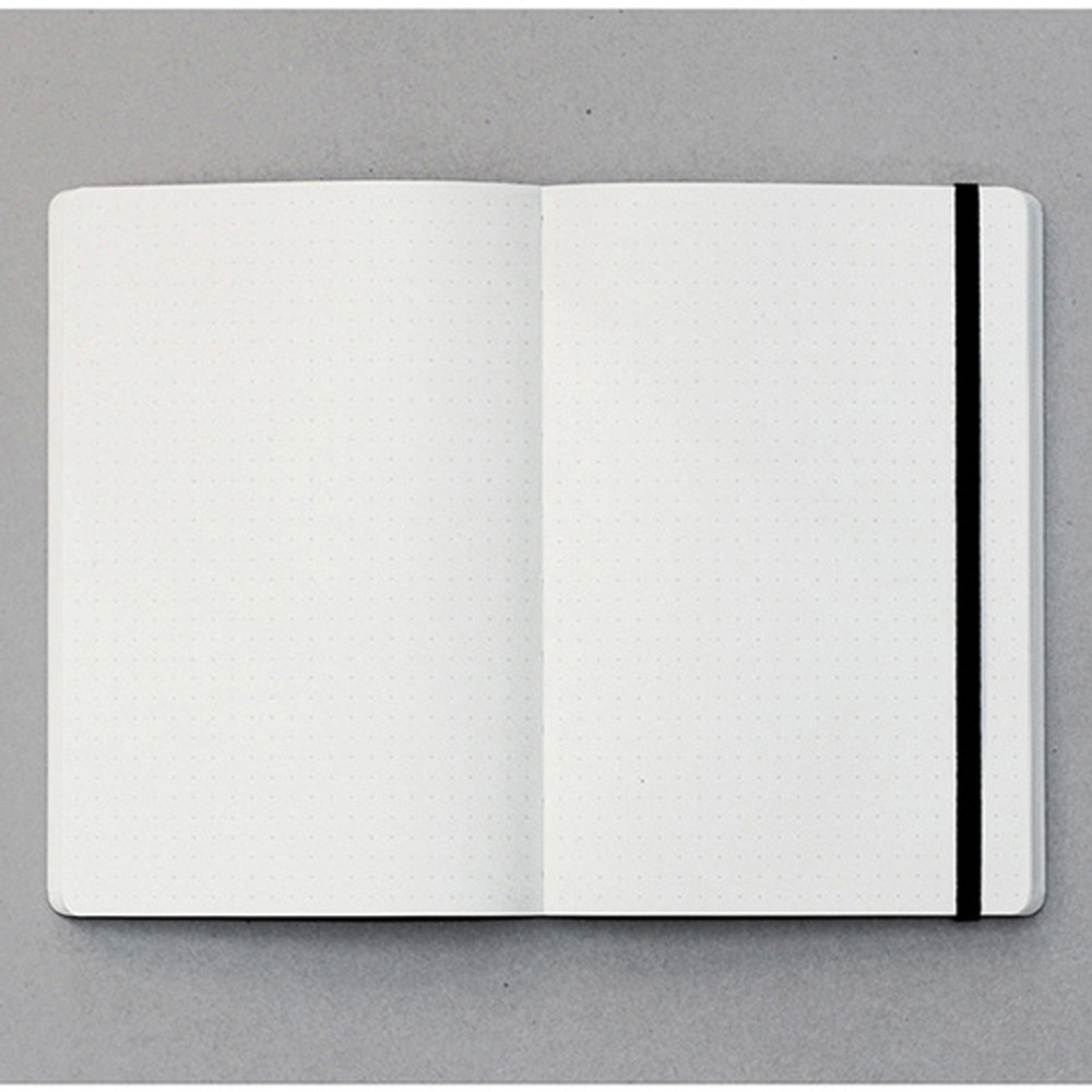 Dotted pages - designlab kki Creative navy PU cover dotted notebook
